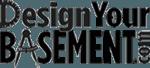 Logo of DesignYourBasement.com. A compass stands for letter A.